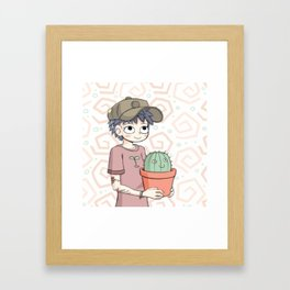 Cactus Gal Framed Art Print