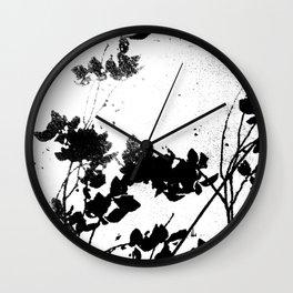 Floral Remains #Society6 #decor #buyart Wall Clock