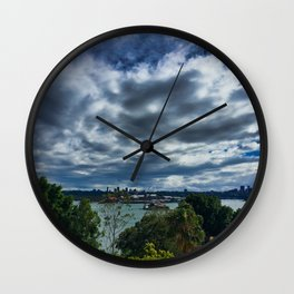 Tree Tops To Sydney Harbour Wall Clock