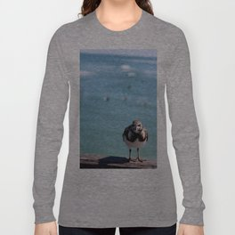 Grumpy Bird Long Sleeve T-shirt