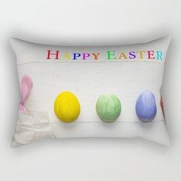 Happy Easter Rectangular Pillow