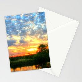 November East Texas Sunrise Stationery Cards