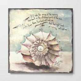 Psalm 139 Metal Print