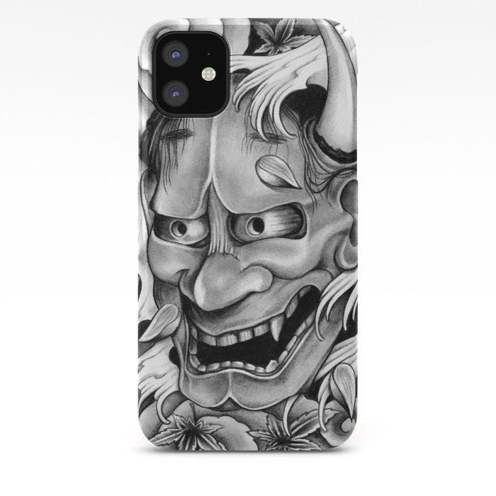 hannya mask iphone 11 case