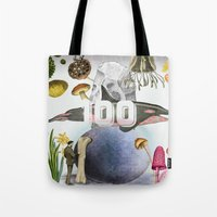 the 100 Tote Bags featuring 100 by amit sakal