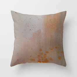 Distressed 1 Throw Pillow