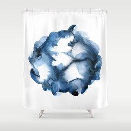 Energy Ball Shower Curtain