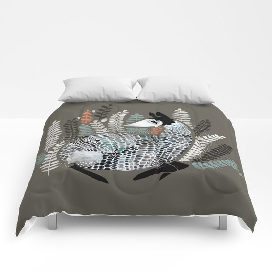Round creature Comforters