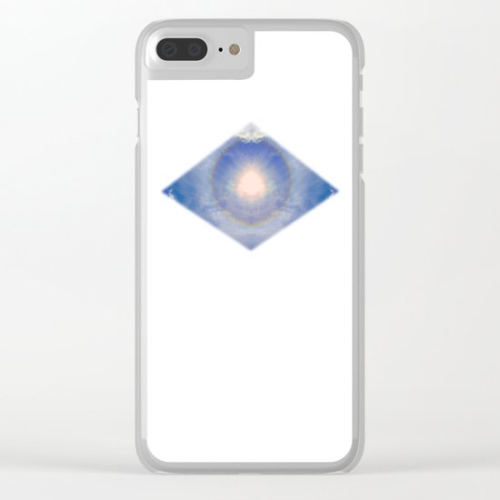 Eye of Light Clear iPhone Case