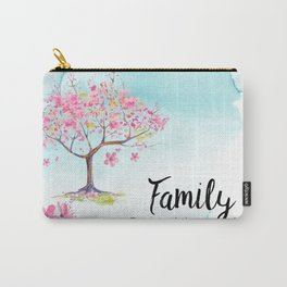 Family pink Carry-All Pouch