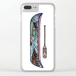 Scenic Canoe Clear iPhone Case