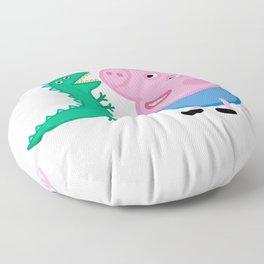 George Pig Dinosaur Floor Pillow