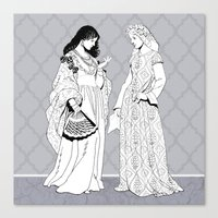 roman Canvas Prints featuring Roman Sisters by Tom Tierney Studios