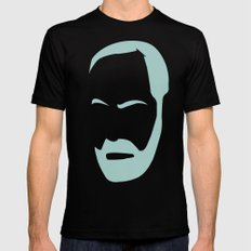 FREUD Black Mens Fitted Tee MEDIUM