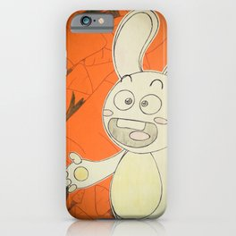 Carrots For Robbo Rabbit iPhone Case