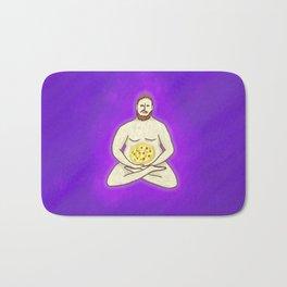 Yoga Pizza Bath Mat