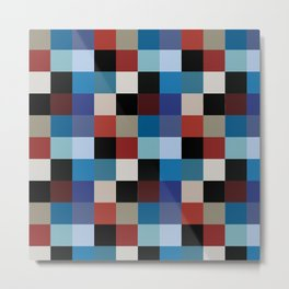 Achtung Baby pattern Metal Print