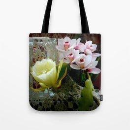 Heavenly May Flowers, Looking Up Tote Bag