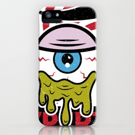 Eye of 7 iPhone Case