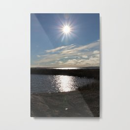 Northern Country Sunset Metal Print