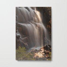 Hadlock Sunbeam Falls Metal Print