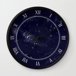 Milky Way galaxy clock Wall Clock