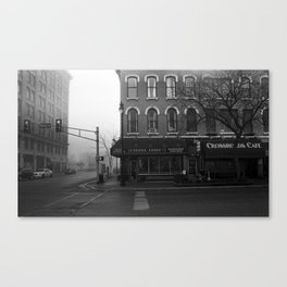 Corner Grind Canvas Print
