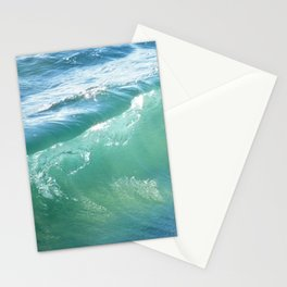 Teal Surf Stationery Cards