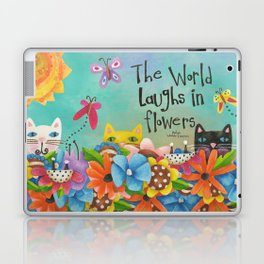 The World Laughs In Flowers Laptop & iPad Skin