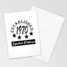 Established 1970 Limited Edition Design Stationery Cards