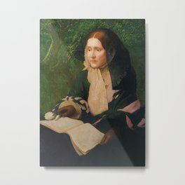 Julia Ward Howe, Author of Mother's Day Proclamation Metal Print