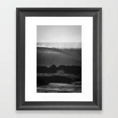 Evening Glass Framed Art Print