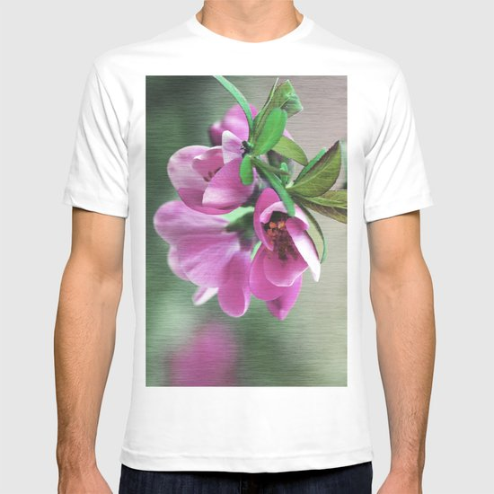 Pink blossom T-shirt
