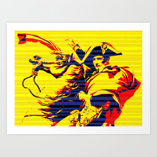 XXI Century Napoleon Art Print