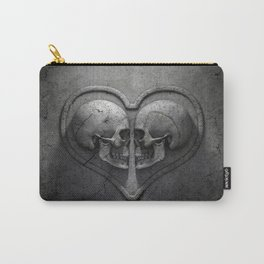 Gothic Skull Heart Carry-All Pouch