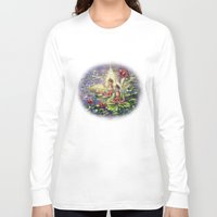 buddha Long Sleeve T-shirts featuring Buddha  by Harsh Malik