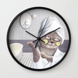Roll My Eyes Wall Clock