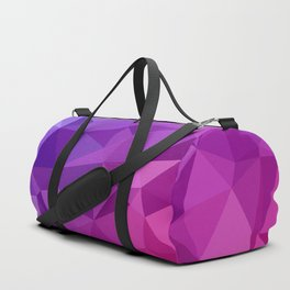 Geometric Abstract Art Pattern Three Duffle Bag