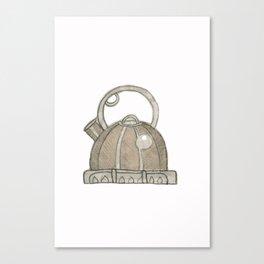 When teapots whistle Canvas Print