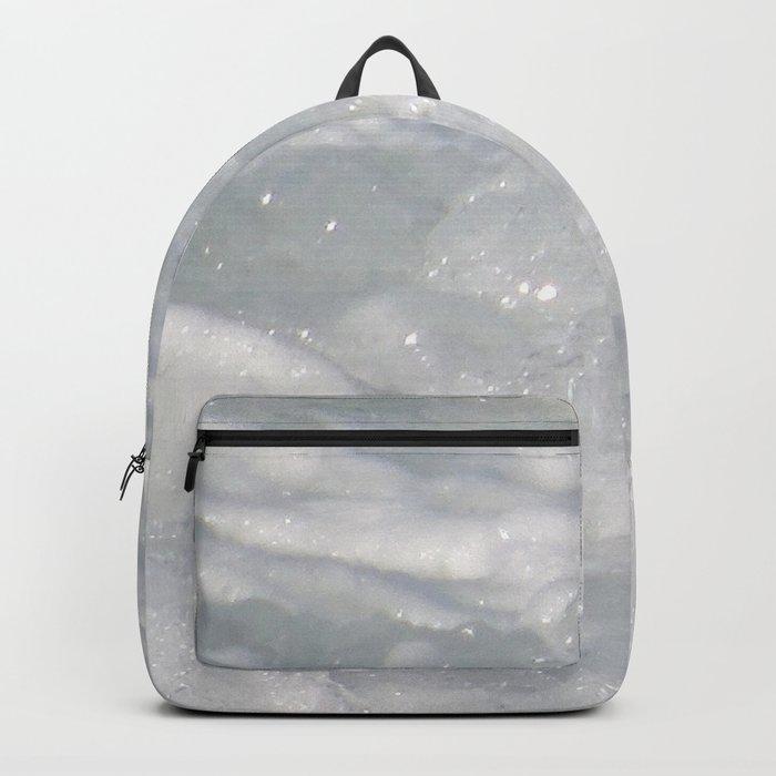 TEXTURES: Laguna Beach Sea Foam #1 Backpack