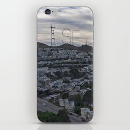 San Francisco - Sutro Tower Chill iPhone Skin