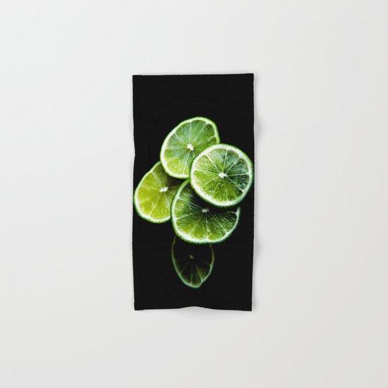 lemon lima Hand & Bath Towel