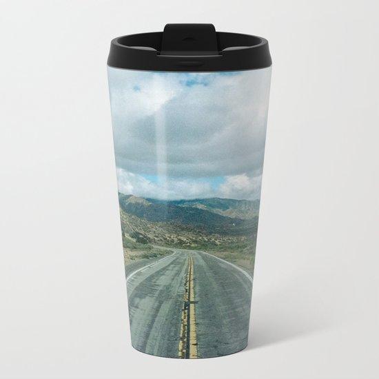 The Road to Los Angeles Metal Travel Mug