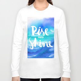 Rise & Shine [Collaboration with Jacqueline Maldonado] Long Sleeve T-shirt