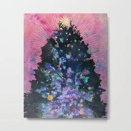 Christmas Eve Tree  Metal Print