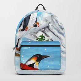 Penguin Alpine Skiing Backpack
