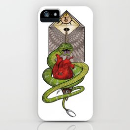The Malevolent Serpent - #2 Animal Hierarchy iPhone Case