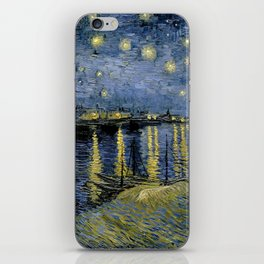 Vincent van Gogh - Starry Night over the Rhone (1888) iPhone Skin