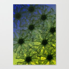 SunFlowerPool Canvas Print