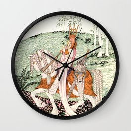 """Kay Nielsen Art from """"Lassie and her Godmother"""" Wall Clock"""